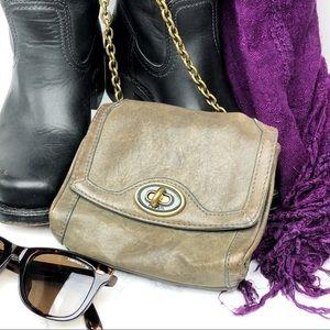 Fossil Leather Mini Convertible Crossbody Bag